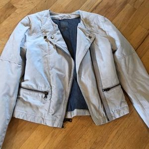 Moto jacket. Size 6 from the Gap